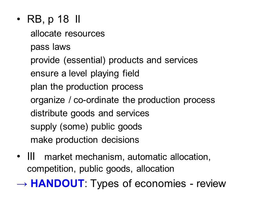 The Four R s Four main purposes of taxation Revenue, ____________, Repricing & Representation 1.