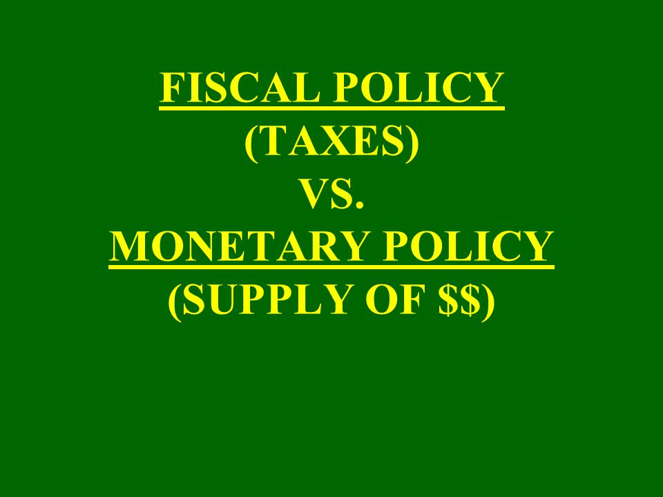 "FEDERAL RESERVE BOARD ""REGULATE $$$ SUPPLY"""