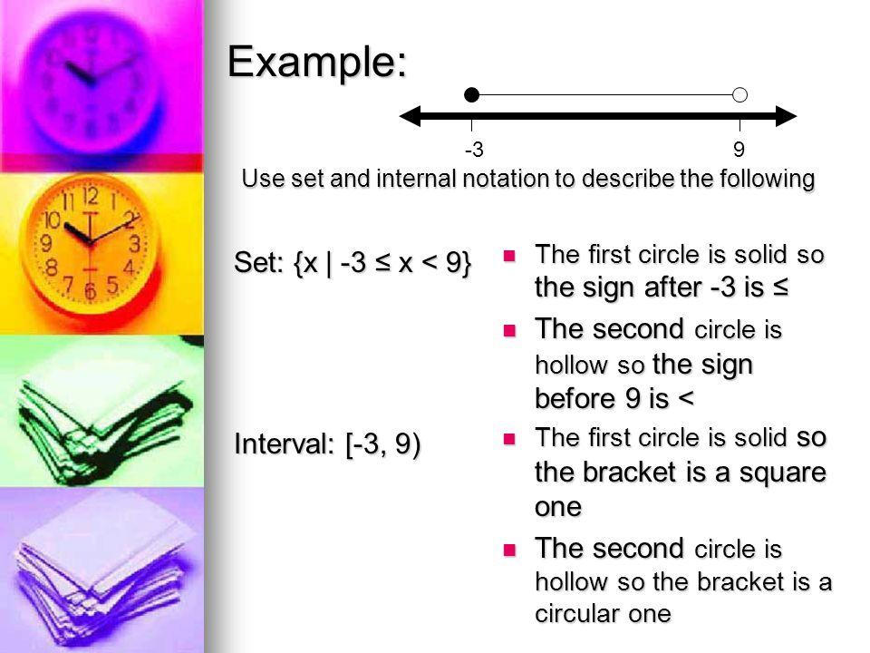 Double Arrow Cases D = {xlxЄR} =(- ∞, ∞ ) ≤3} R = {yly≤3} = (- ∞, -3] = (- ∞, -3] -3