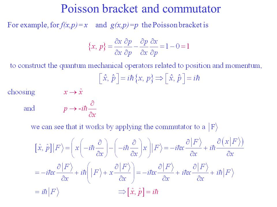 Variance Finally, we can connect everything we know about commutators and the Dirac's quantum condition and obtain the most fundamental property of the Quantum World individual measurements expectation value