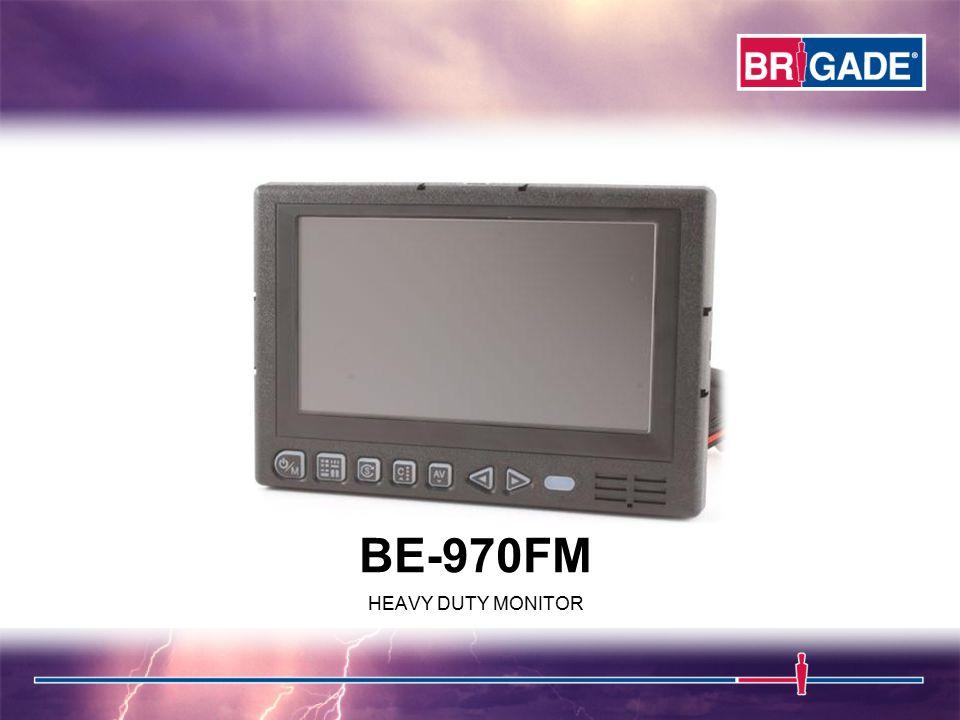 BE-970FM HEAVY DUTY MONITOR