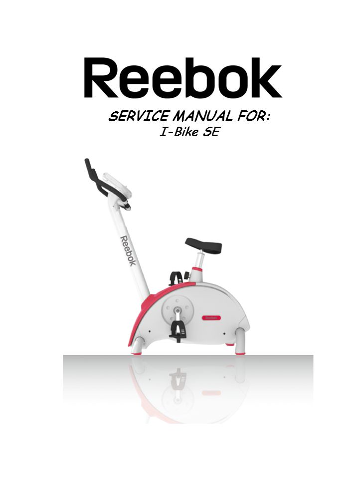 SERVICE MANUAL FOR: I-Bike SE