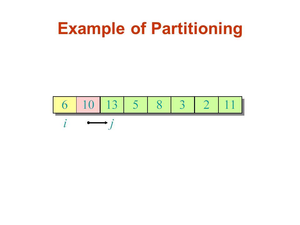 Calculating Expectation(Alternative approach) Example: Sort the following 10 distinct values: 5, 9, 3, 10, 11, 14, 8, 4, 17, 6 Pivot: 10 {5, 9, 3, 8, 4, 6}, 10, {11, 14, 17} Pivot: 6 {5, 3, 4}, 6, {9, 8}, 10, {11, 14, 17} Pivot: 4 {3}, 4, {5}, 6, {9, 8}, 10, {11, 14, 17}