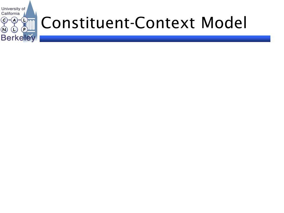 Constituent-Context Model