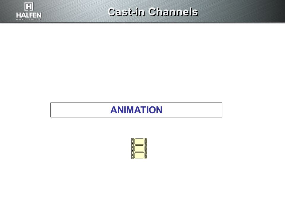 Cast-in Channels ANIMATION