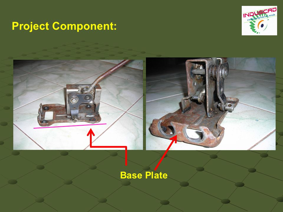 Base Plate Project Component: