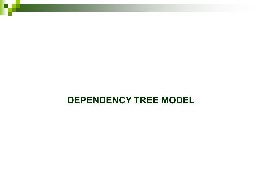 DEPENDENCY TREE MODEL