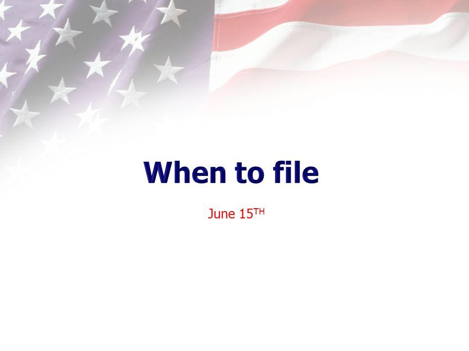 June 15 TH
