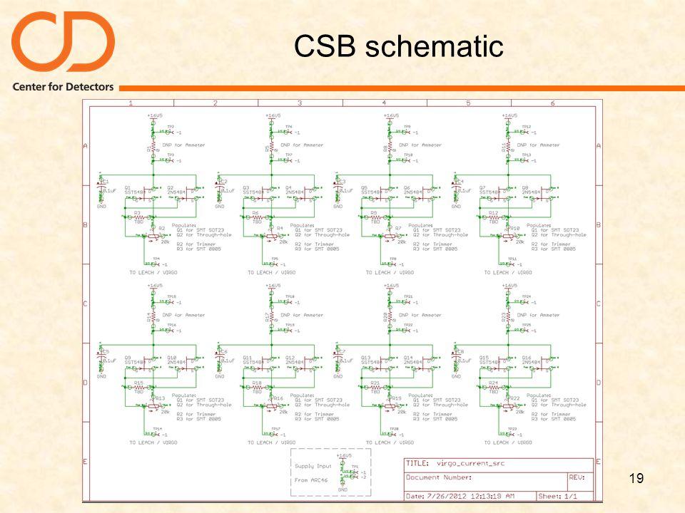 CSB schematic 19