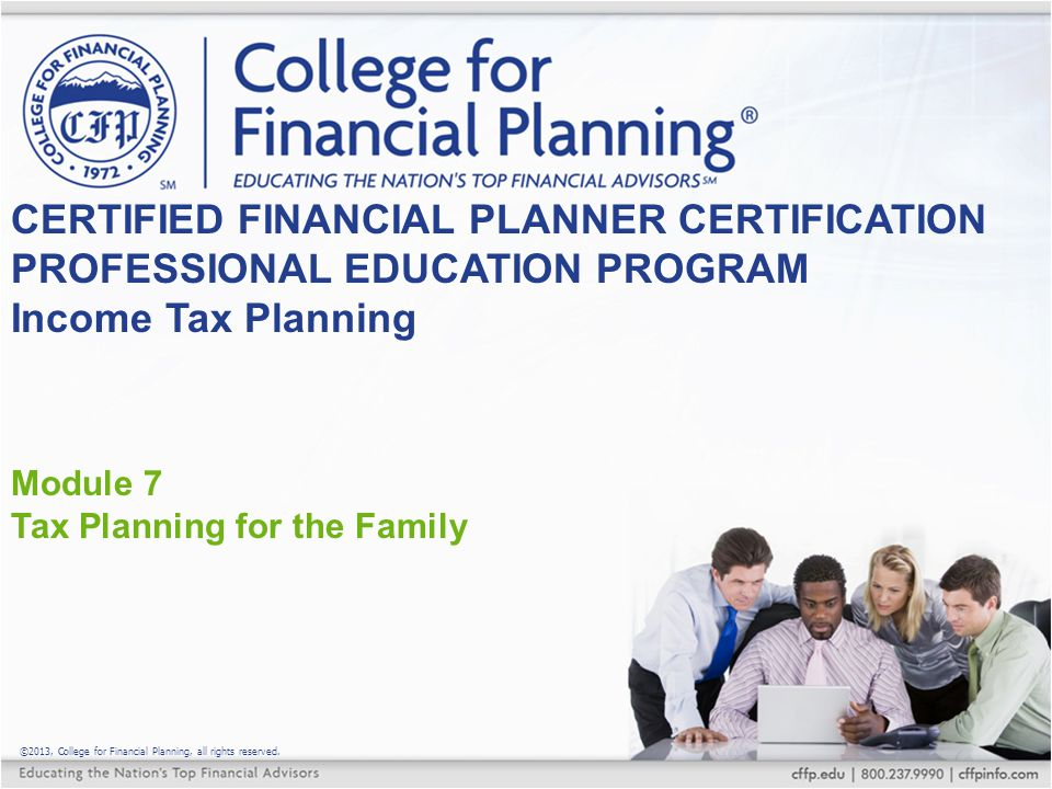 Educational Provisions Lifetime Learning Credit $2,000 maximum per taxpayer Available for unlimited years May be used for CE, etc.