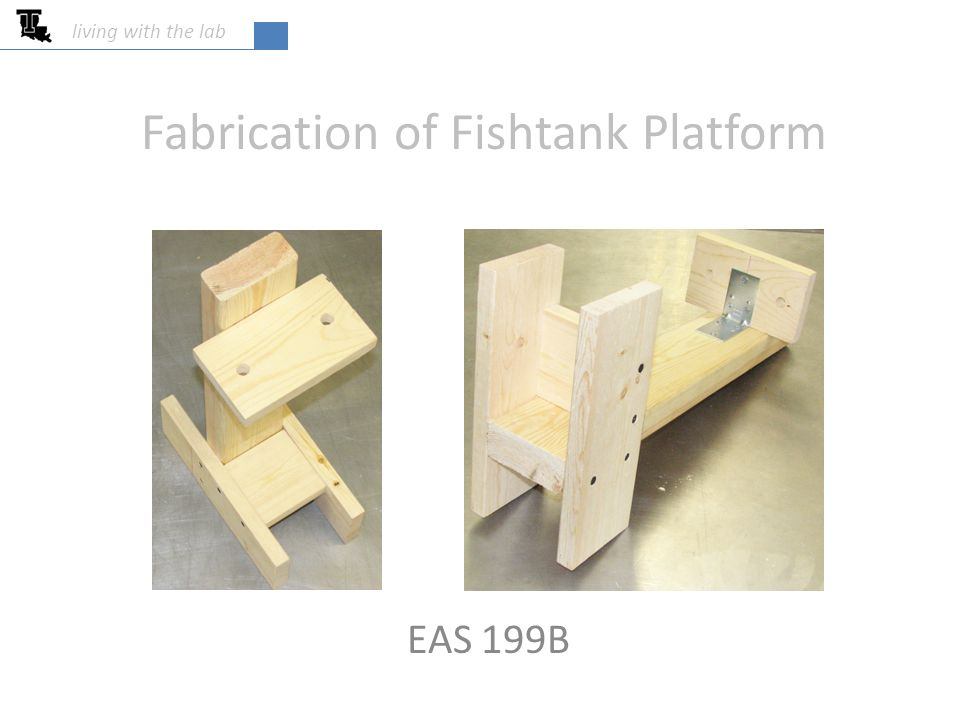 Fabrication of Fishtank Platform EAS 199B living with the lab