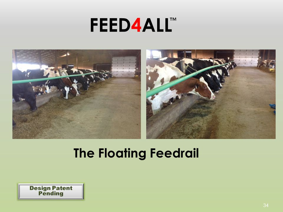 34 FEED4ALL The Floating Feedrail ™