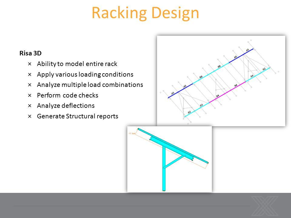 Racking Design