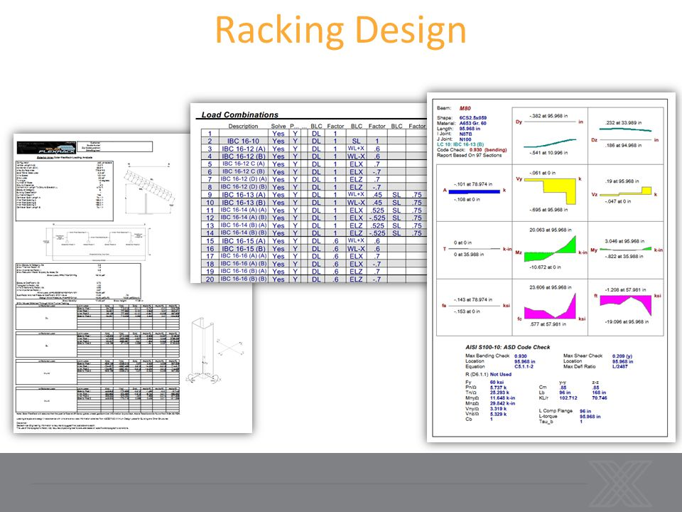 CFS - RSG Software ×Specializes in cold form steel design ×Ability to perform code checks on various cold form shapes ×Analyze complex cold-form shapes