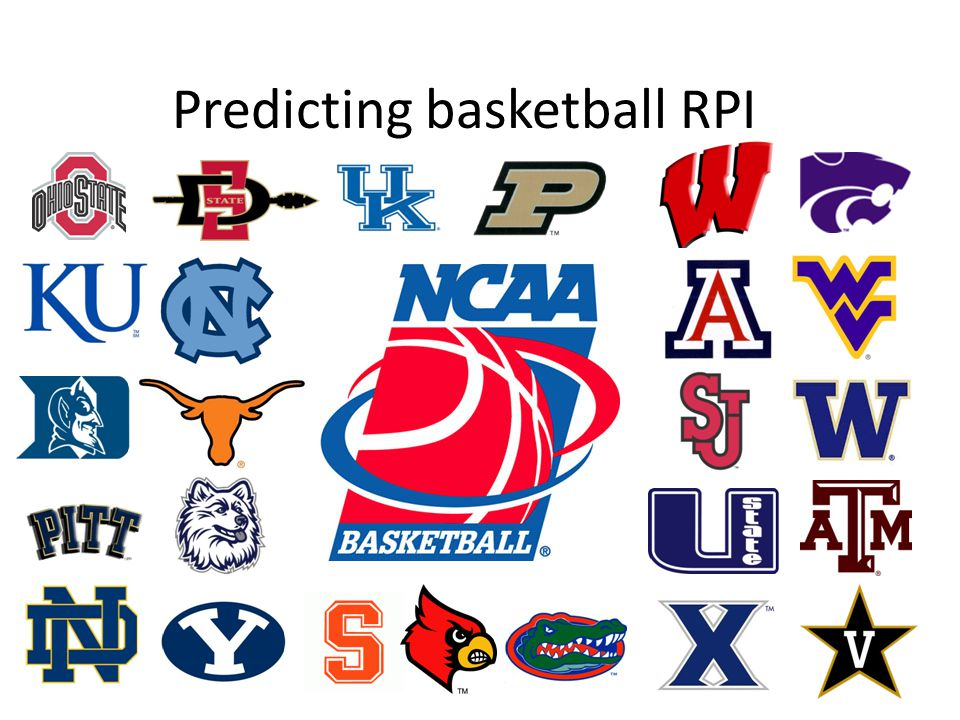 Predicting basketball RPI