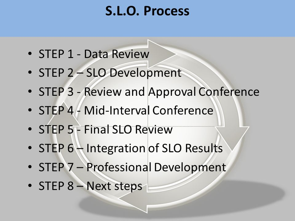 SIP HSA Results AP Results MSAs AP HSAs MSA Results Evaluation Data Analysis Conference Professional Practice Building the TPE Professional Development Calendar Observing Professional Practice Translating MSA to a % Setting SLOs Reviewing Annual Data Aligning SIP Goals Writing the SIP Extracting Teacher & Principal Measures