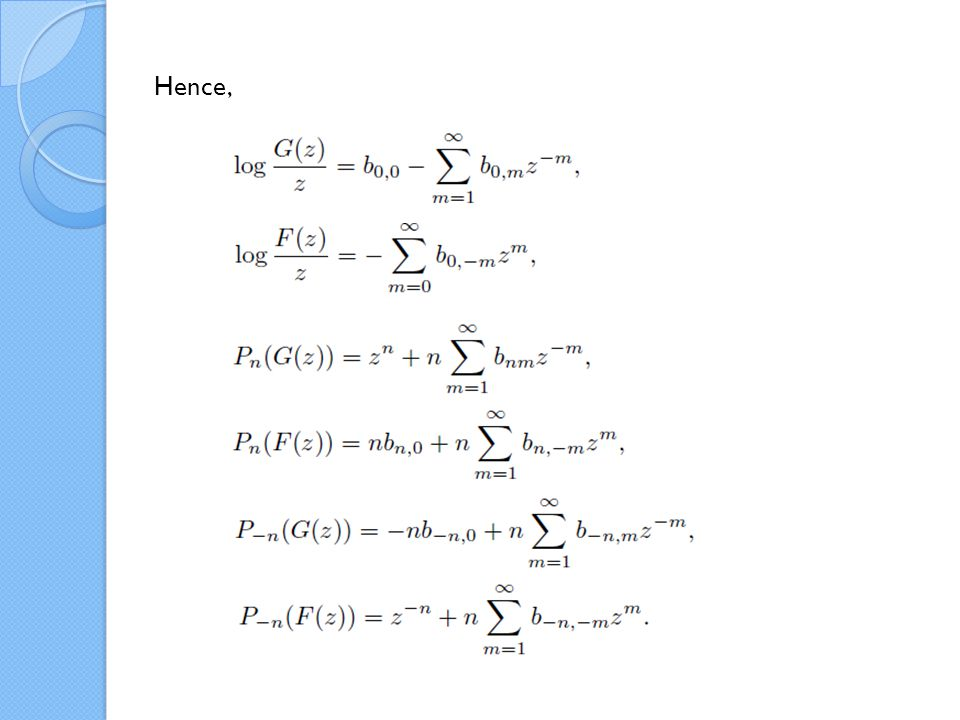 Orlov-Schulman functions They satisfy the following Lax equations and the canonical relations