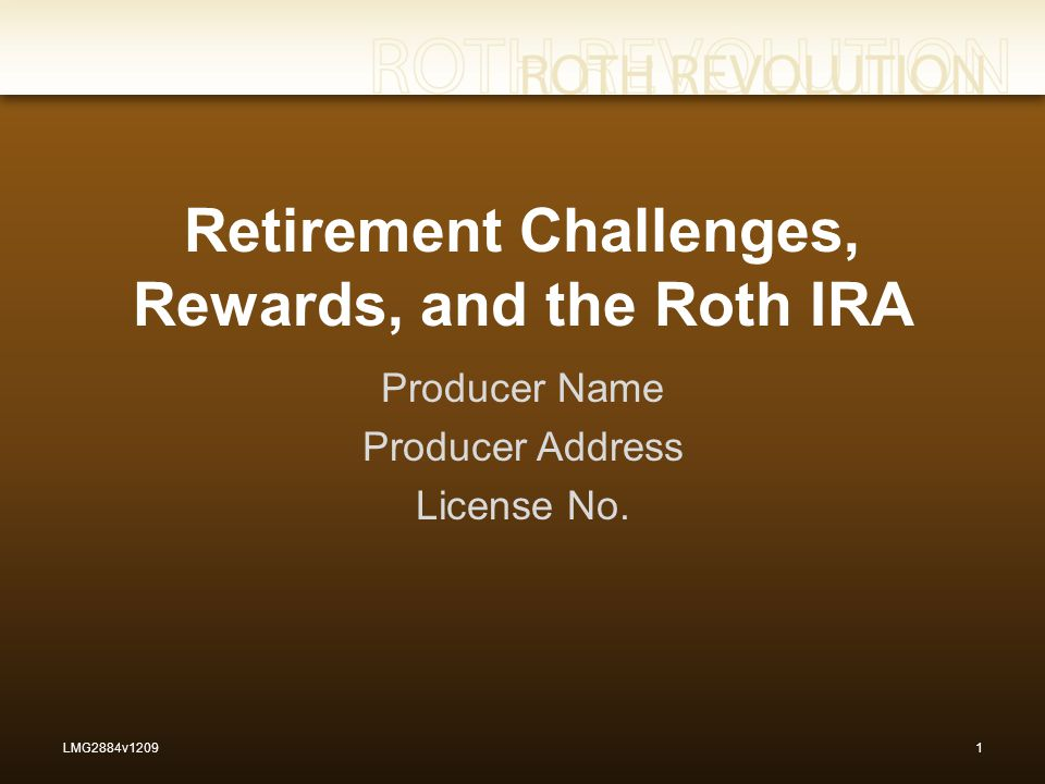 Since their creation more than a decade ago, Roth IRAs have been among the best tax breaks available. 22LMG2884v1209 Ed Slott, Roth Conversion Planning for 2009 and 2010, Ed Slott's IRA Advisor (July 2009).