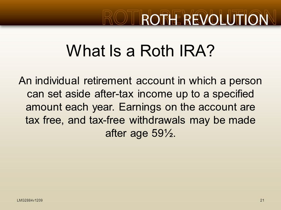 What Is a Roth IRA.