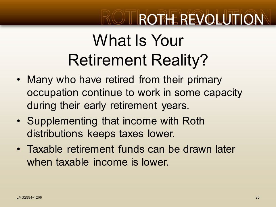 What Is Your Retirement Reality.