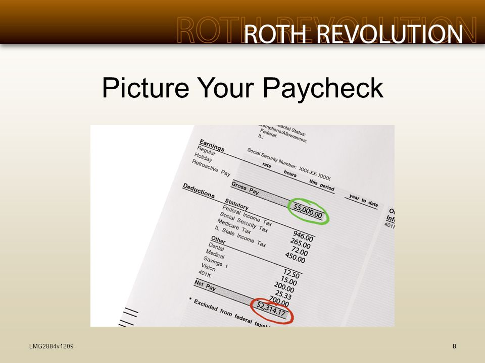 Picture Your Paycheck LMG2884v1209 88