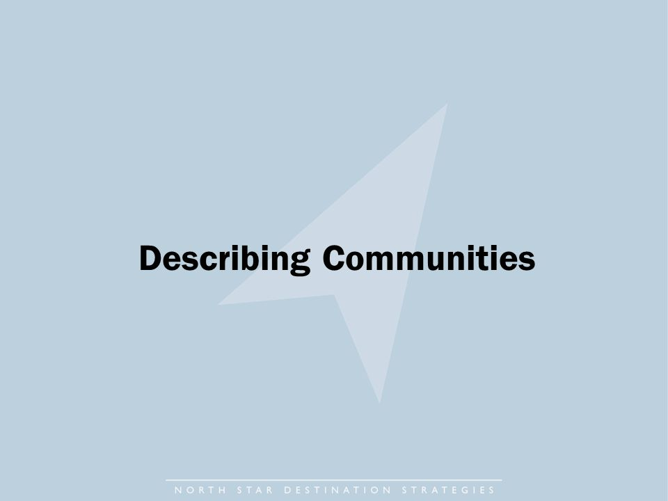Describing Communities