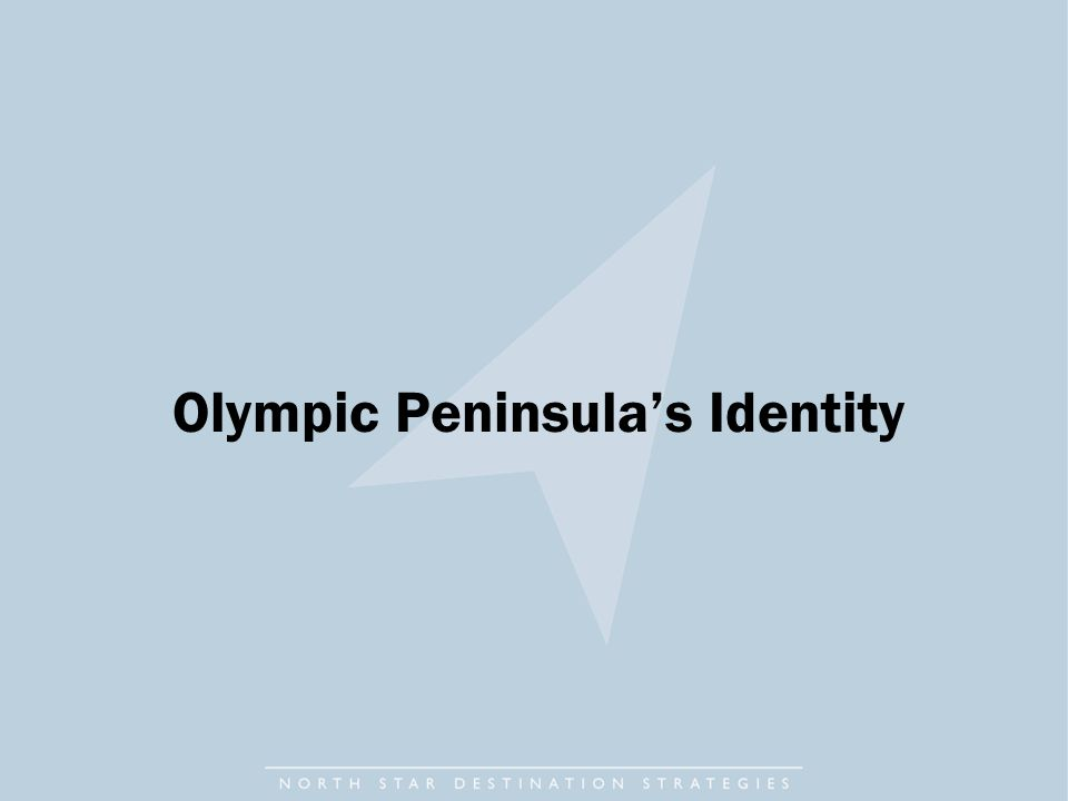 Olympic Peninsula's Identity