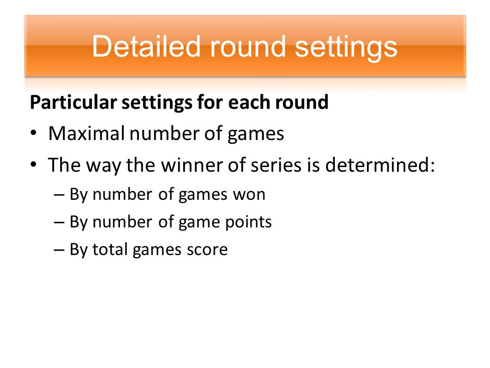 Score for each time/period Game points each participant received Internet link to the game record Date and time Playing location