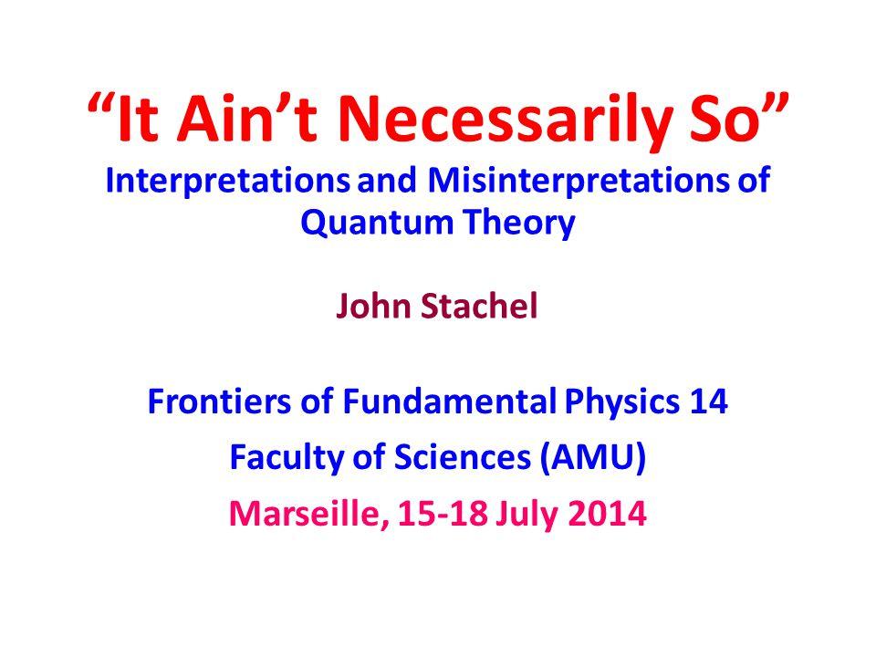 Langevin's Response to Bohr 1) ….