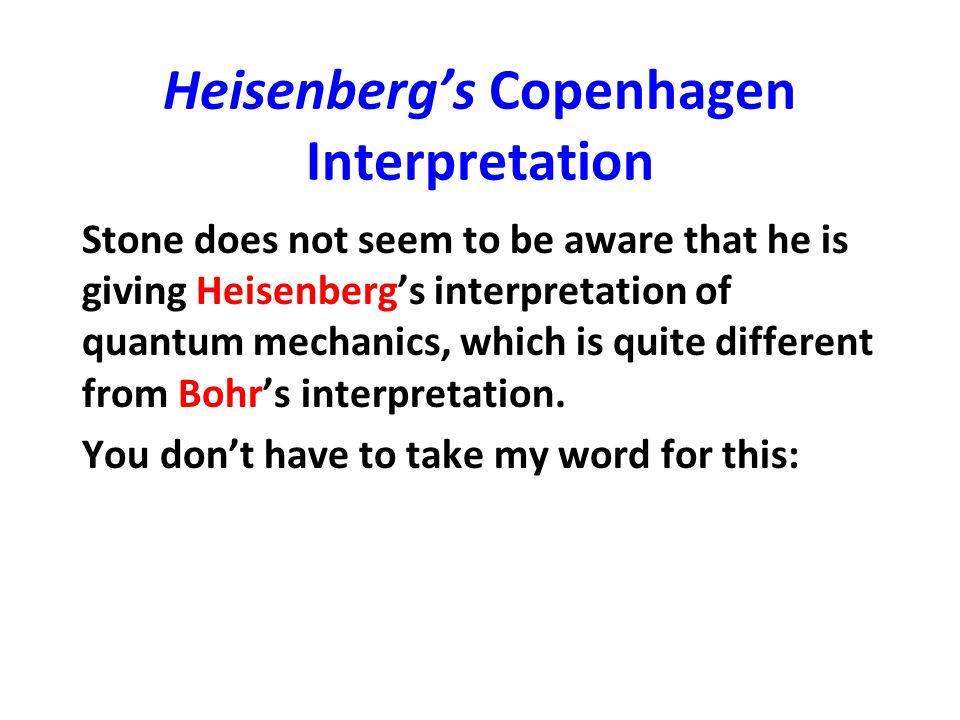Nine formulations of quantum mechanics, Daniel F.