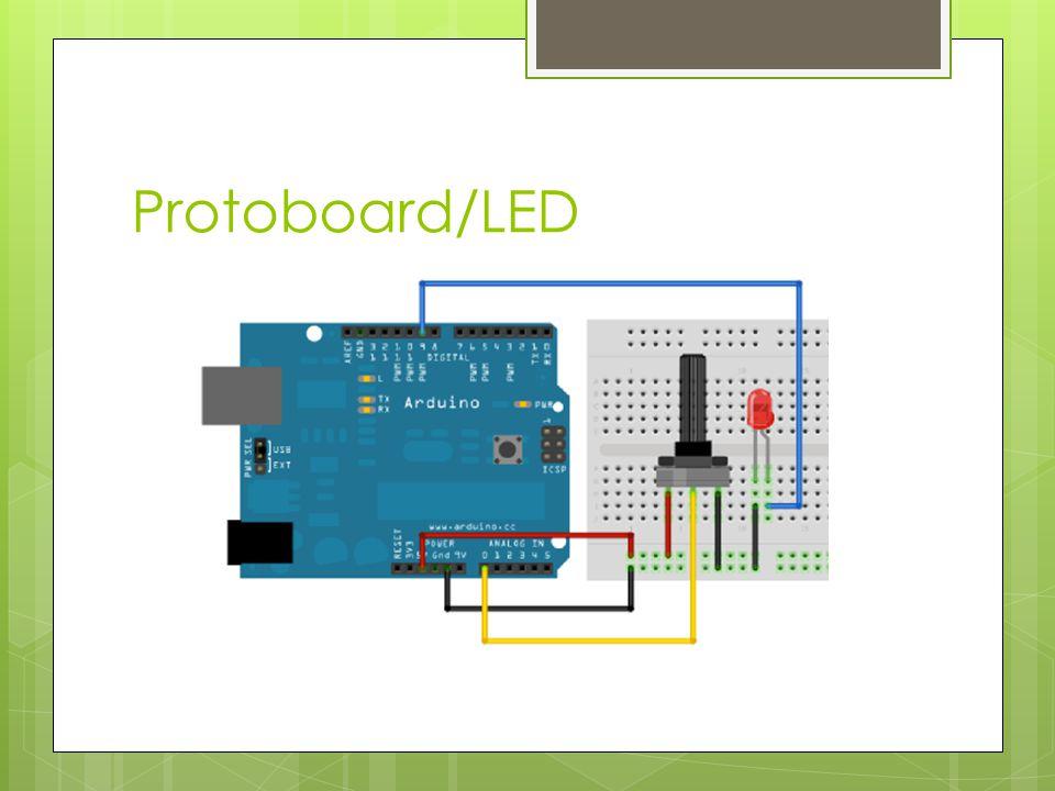 Protoboard/LED