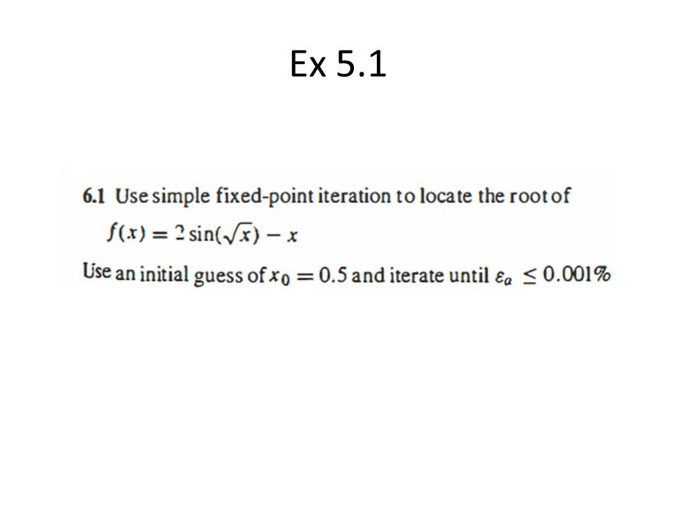 Ex 5.1