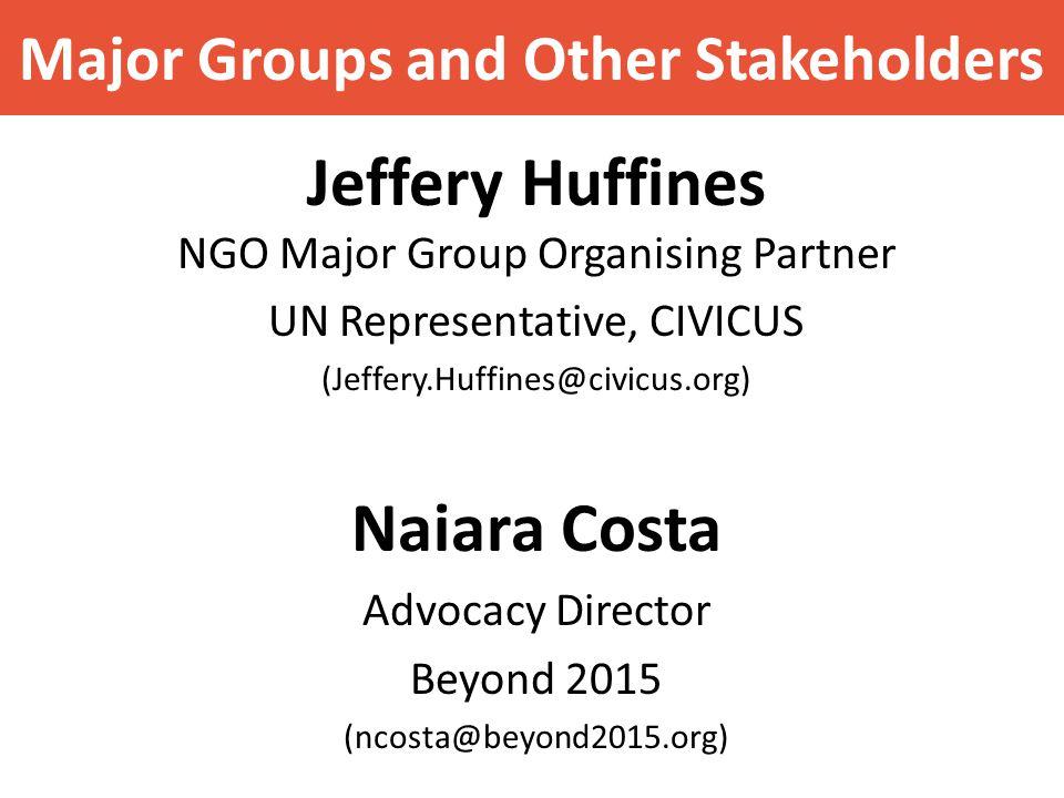 How to influence UN processes Felix Dodds www.felixdodds.net www.felixdodds.net 3