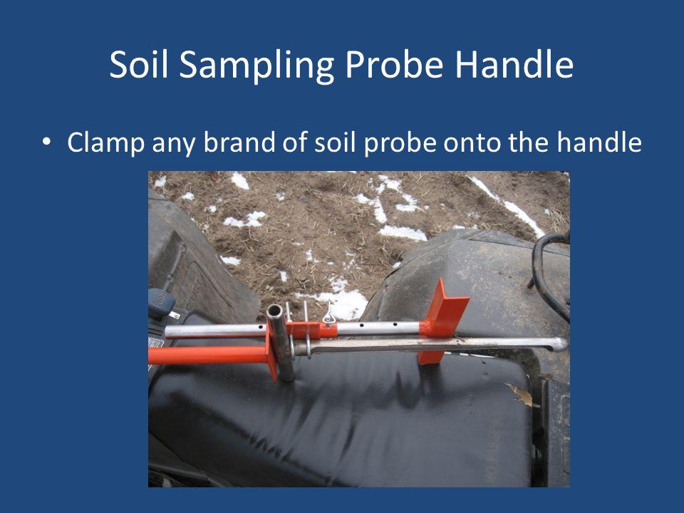 Soil Sampling Probe Handle Clamp any brand of soil probe onto the handle