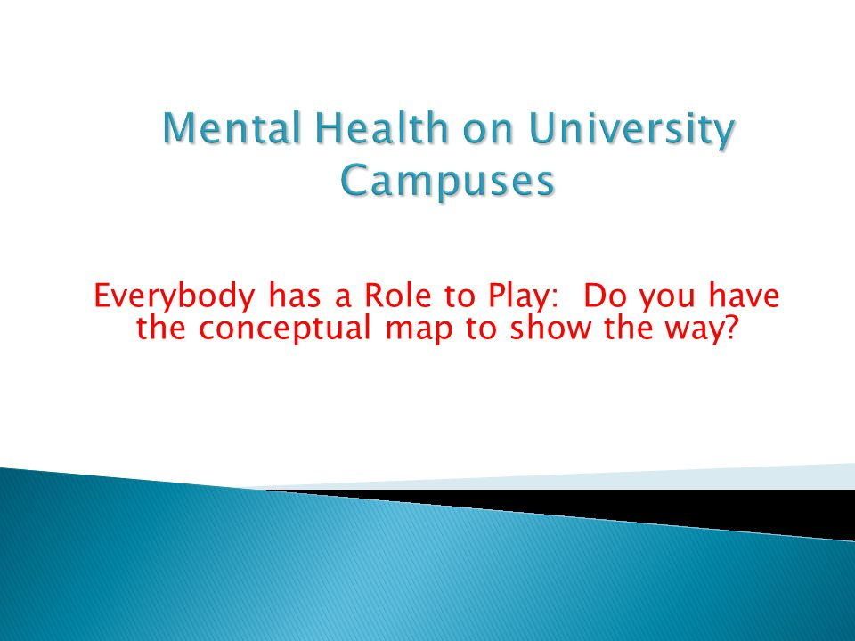 Everybody has a Role to Play: Do you have the conceptual map to show the way?