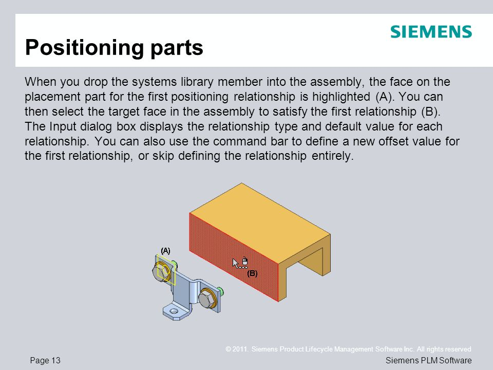 Page 13 © 2011. Siemens Product Lifecycle Management Software Inc.