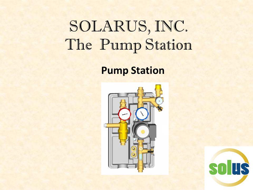 SOLARUS, INC. The Pump Station Pump Station