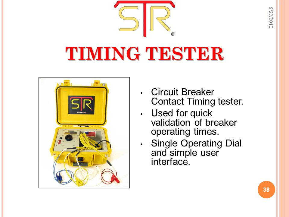 TIMING TESTER Circuit Breaker Contact Timing tester.