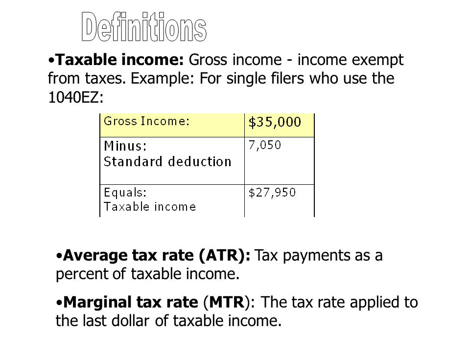 Horizontal equity: Tax code should be written so that those in the same economic circumstances pay the same amount in taxes.