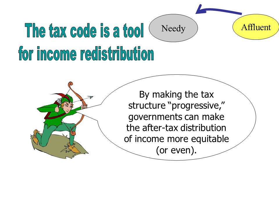 Progressive tax: The proportion of taxable income taken in taxes increases as taxable income increases.