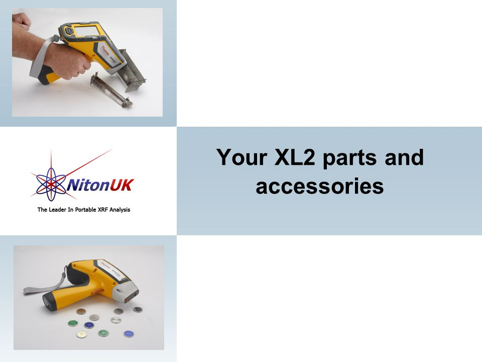 Your XL2 parts and accessories