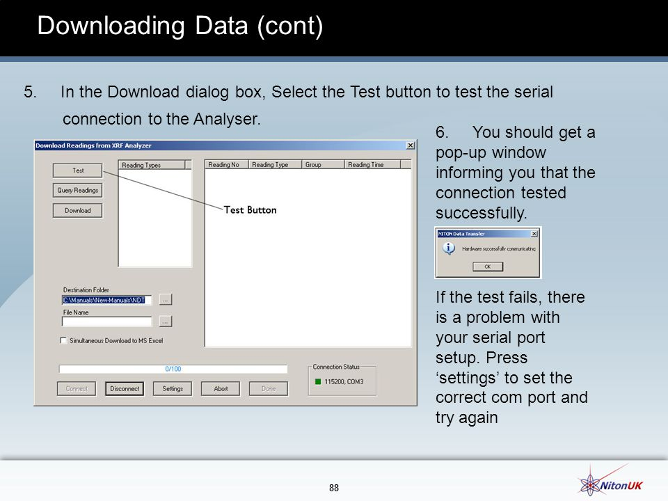 88 Downloading Data (cont) 5.