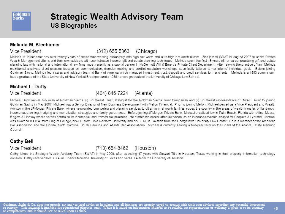 Goldman, Sachs & Co.