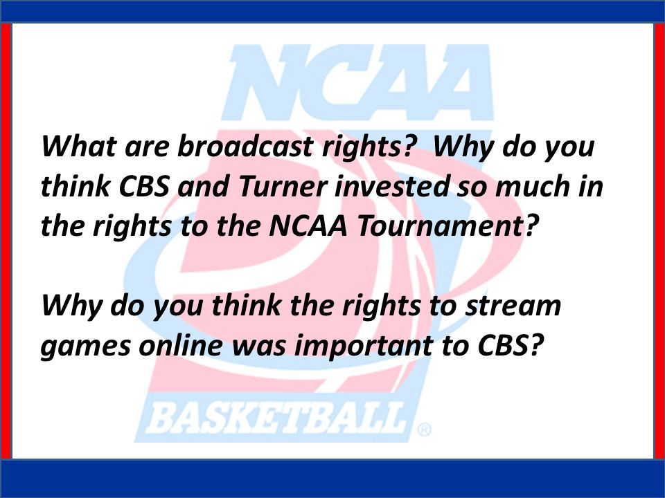 What are broadcast rights.