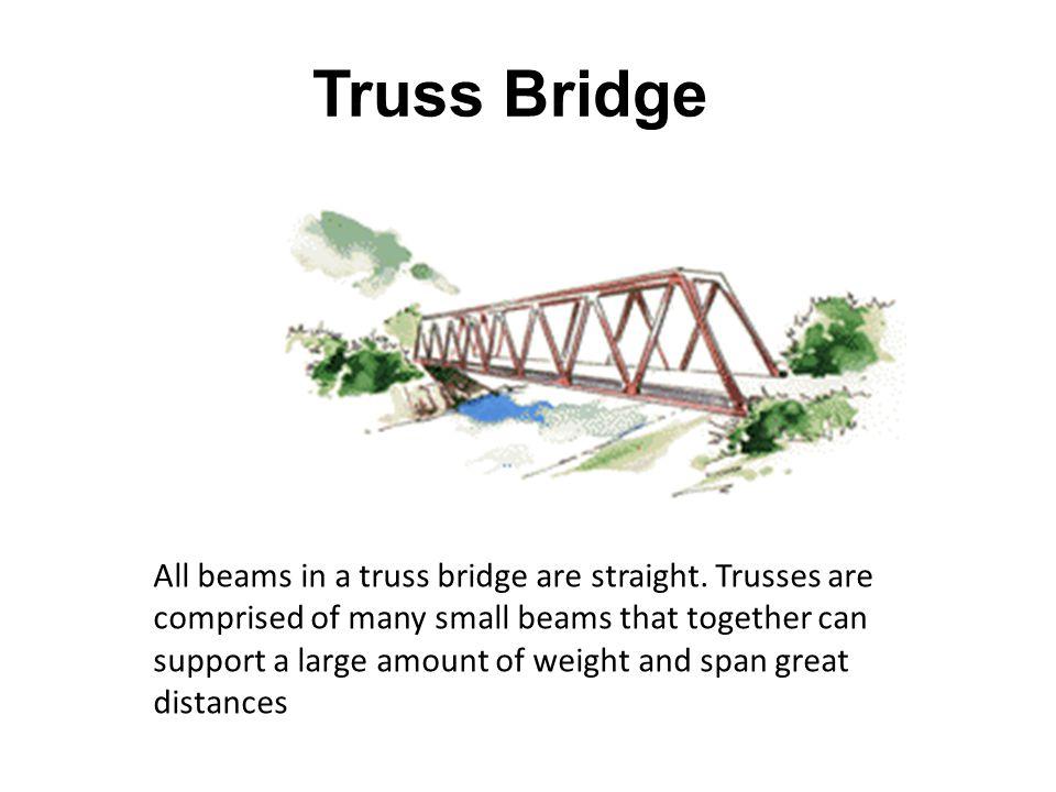 Truss Bridge Typical Span Lengths 40m - 500m World's Longest Pont de Quebec Total Length863m Center Span549m A Matsuo Example 2 nd Mameyaki Bridge All