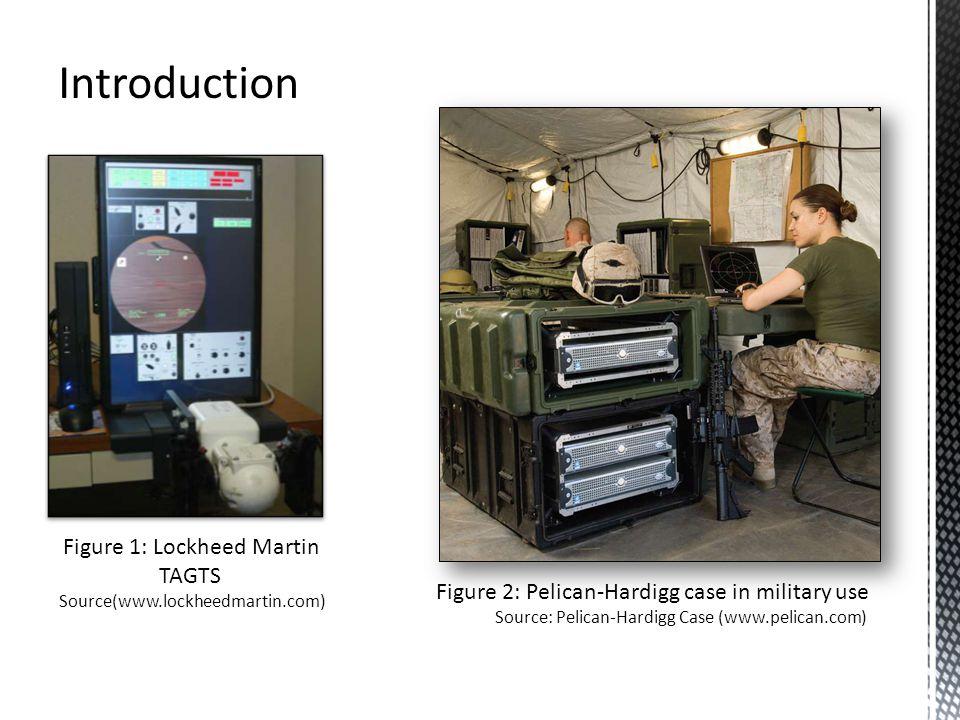 Introduction Figure 1: Lockheed Martin TAGTS Source(www.lockheedmartin.com) Figure 2: Pelican-Hardigg case in military use Source: Pelican-Hardigg Case (www.pelican.com)