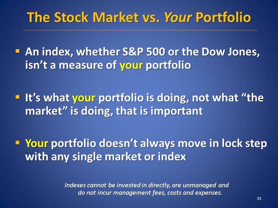 The Stock Market vs.