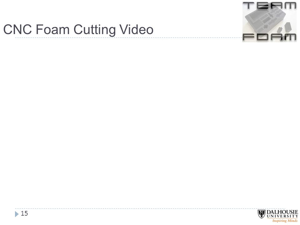 CNC Foam Cutting Video 15