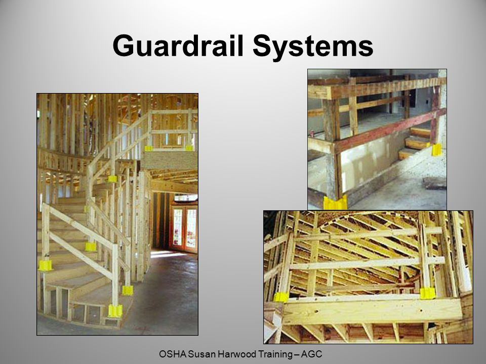 OSHA Susan Harwood Training – AGC Guardrail Systems