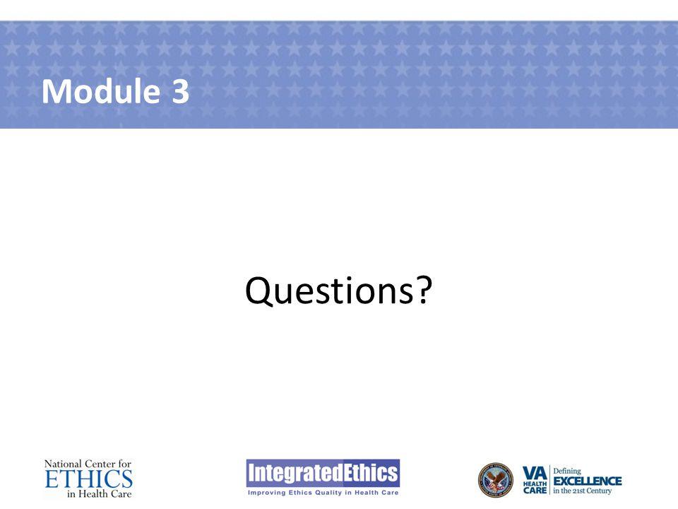 Module 3 Questions?